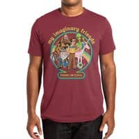 My Imaginary Friends - mens-extra-soft-tee - small view