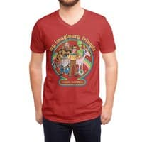 My Imaginary Friends - vneck - small view