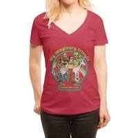 My Imaginary Friends - womens-deep-v-neck - small view