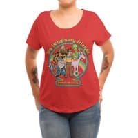 My Imaginary Friends - womens-dolman - small view