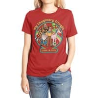 My Imaginary Friends - womens-extra-soft-tee - small view