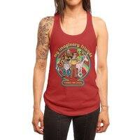 My Imaginary Friends - womens-racerback-tank - small view