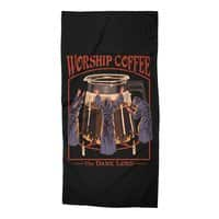 Worship Coffee - beach-towel - small view