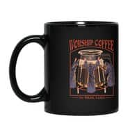 Worship Coffee - black-mug - small view