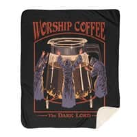 Worship Coffee - blanket - small view