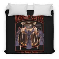 Worship Coffee - duvet-cover - small view