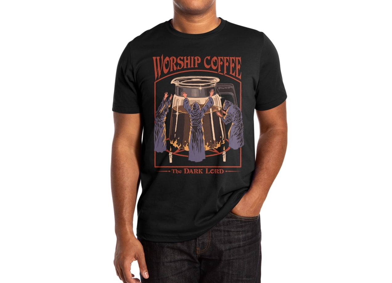 9d6bba271a Worship Coffee by Steven Rhodes | Men's T-Shirt Threadless