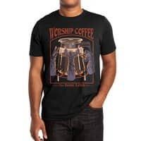 Worship Coffee - mens-extra-soft-tee - small view
