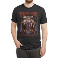 Worship Coffee - mens-triblend-tee - small view