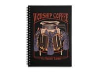 Worship Coffee - spiral-notebook - small view