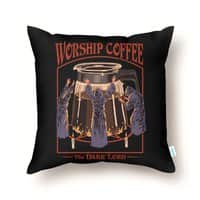 Worship Coffee - throw-pillow - small view