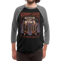 Worship Coffee - triblend-34-sleeve-raglan-tee - small view