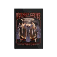 Worship Coffee - vertical-mounted-acrylic-print - small view