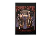 Worship Coffee - vertical-stretched-canvas - small view