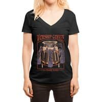 Worship Coffee - womens-deep-v-neck - small view