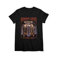 Worship Coffee - womens-premium-tee - small view