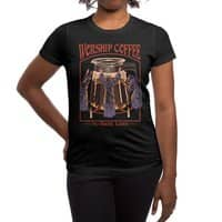 Worship Coffee - womens-regular-tee - small view