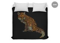The Fox Leaves at Midnight - duvet-cover - small view