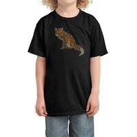 The Fox Leaves at Midnight - kids-tee - small view