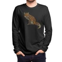 The Fox Leaves at Midnight - mens-long-sleeve-tee - small view