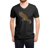The Fox Leaves at Midnight - vneck - small view