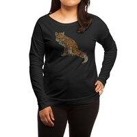 The Fox Leaves at Midnight - womens-long-sleeve-terry-scoop - small view