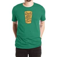Good Beer, Good Friends - mens-extra-soft-tee - small view