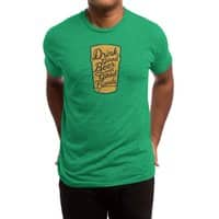 Good Beer, Good Friends - mens-triblend-tee - small view