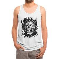 Flame - mens-triblend-tank - small view