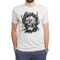 Flame - mens-triblend-tee - small view