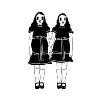 The Grady Alien Twins - small view