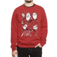 Sexy Santa - crew-sweatshirt - small view