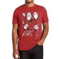 Sexy Santa - mens-extra-soft-tee - small view