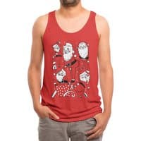 Sexy Santa - mens-triblend-tank - small view