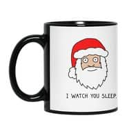 Creepy Santa - black-mug - small view