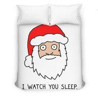 Creepy Santa - duvet-cover - small view