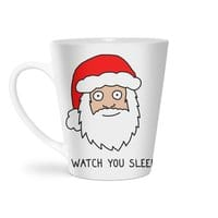 Creepy Santa - latte-mug - small view