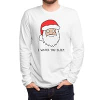 Creepy Santa - mens-long-sleeve-tee - small view