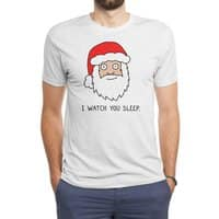 Creepy Santa - mens-triblend-tee - small view