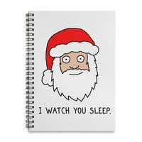 Creepy Santa - spiral-notebook - small view