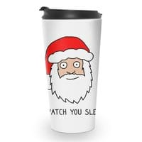 Creepy Santa - travel-mug - small view