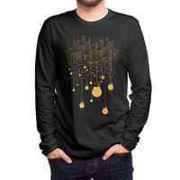 The Hanging City (Black Variant) - mens-long-sleeve-tee - small view