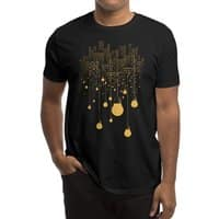 The Hanging City (Black Variant) - mens-regular-tee - small view