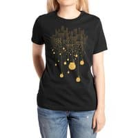 The Hanging City (Black Variant) - womens-extra-soft-tee - small view