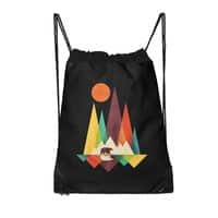 The Great Outdoors (Black Variant) - drawstring-bag - small view
