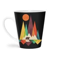 The Great Outdoors (Black Variant) - latte-mug - small view