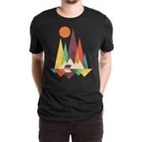 The Great Outdoors (Black Variant) - mens-extra-soft-tee - small view