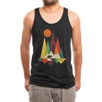 The Great Outdoors (Black Variant) - mens-triblend-tank - small view