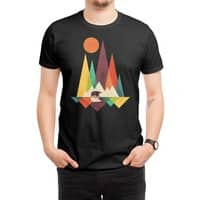 The Great Outdoors (Black Variant) - mens-regular-tee - small view