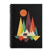 The Great Outdoors (Black Variant) - spiral-notebook - small view